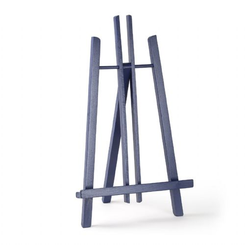 "Navy Blue Colour Easel Kent 20"" - Beech Wood"